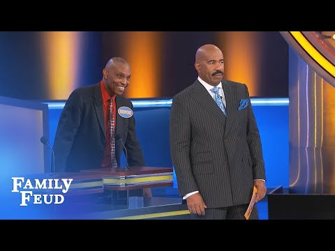 Rodvous goes THERE! | Family Feud