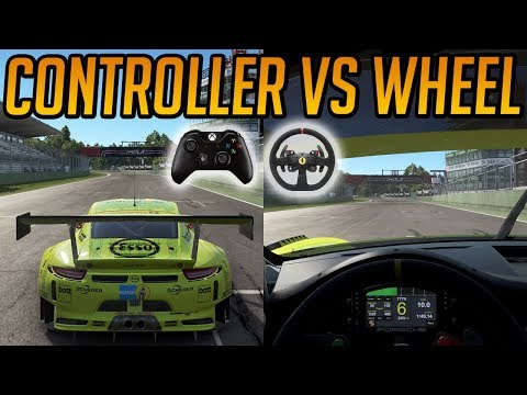 Project CARS 2 Controller VS Wheel Comparison