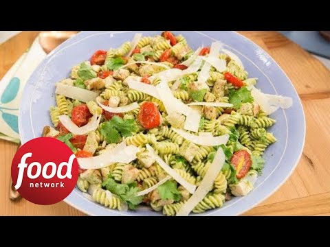 Marcela's Cilantro Pesto Pasta Salad | Food Network