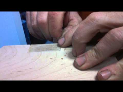 Fill small cracks in wood.