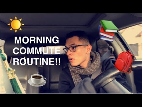 College Commuter Morning Routine | What It's Really Like