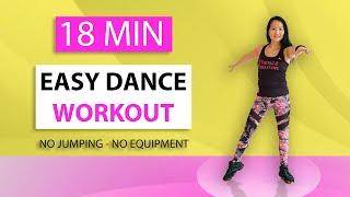 18 Minuten Easy Dans Workout voor Thuis - Afslanken - Cardio - Vet Verbranden - Beginners