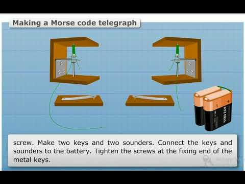 How to make a Morse Code Telegraph