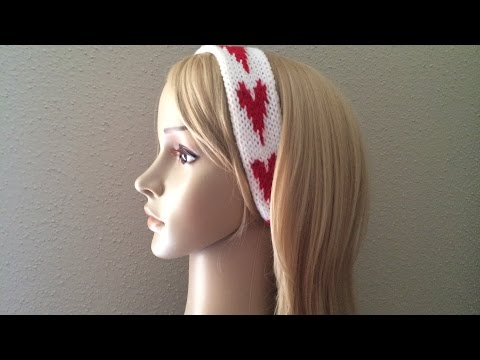 How To Finish And Sew A Headband, How To Lose Ends