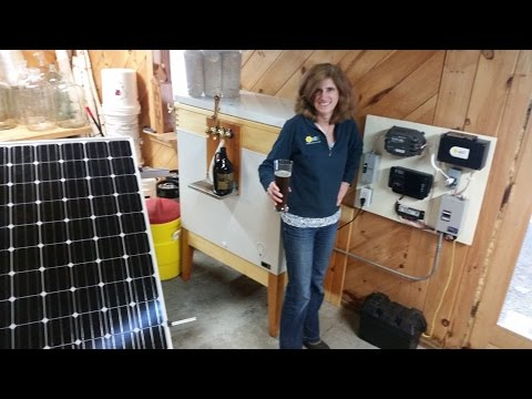 Solar Kegerator
