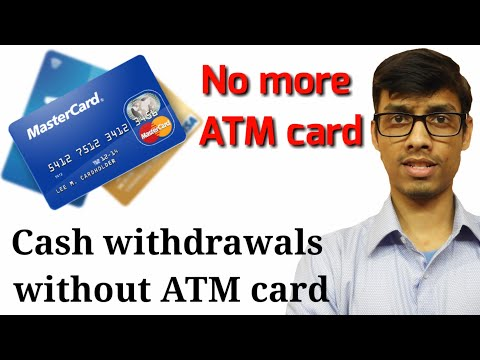 Withdraw money from ATM without ATM card