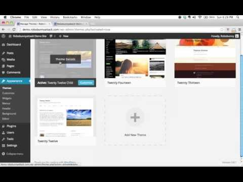 How to add a custom screenshot image for a WordPress child theme