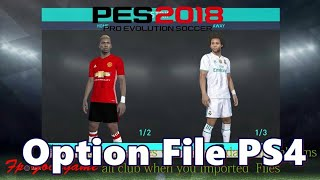 PES 2018 PS4 Monster Patch Summer Season 19