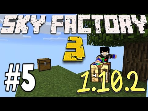 Minecraft Sky Factory 3 1.10.2 - Auto Mob Farm Loot Bags And Endoflame (5)