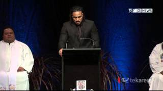 Jerry Collins remembered at final farewell
