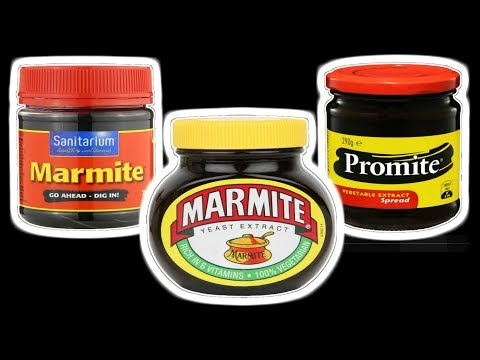 Let's Try UK & New Zealand Marmite and Australian Promite - WHAT ARE WE EATING?? - The Wolfe Pit
