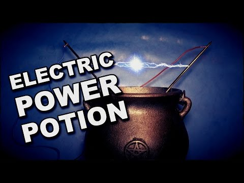 How To Make An Electricity Power Potion