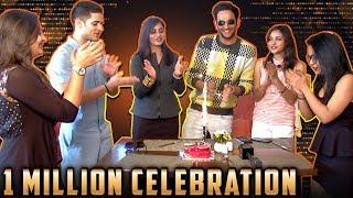 Vikas Gupta, Arshi Khan, Priyank Sharma & Jyoti Kumari Renuion   TellyMasala 1 Million Subscribers