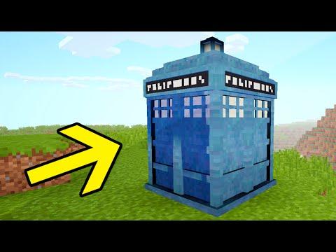 WORKING TARDIS IN MINECRAFT!! (Huge Interior Command Block House)