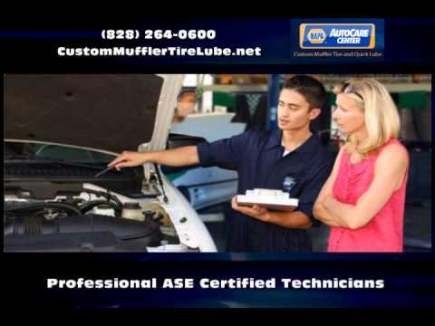 Auto Repairs Boone NC - Custom Muffler Tire and Quick Lube