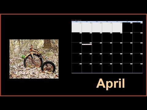Photoshop:Senior Edition- Desktop Calendar Making