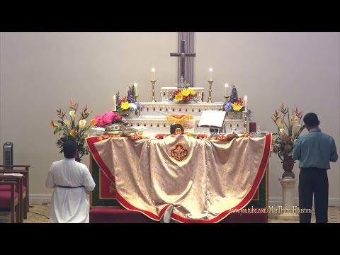 Mathews Philip Achen celebrated Holy Communion at TMC Houston