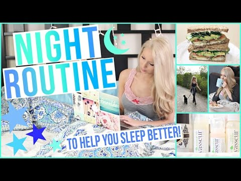 MY NIGHT ROUTINE + Tips for Better Sleep!