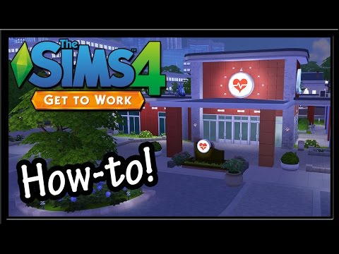 Sims 4 Tutorial: How To Replace Get To Work Career Lots!