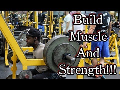Complete Leg Workout For Strength & Mass