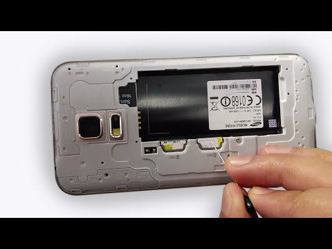 Taking sim card out of Samsung s5 mini