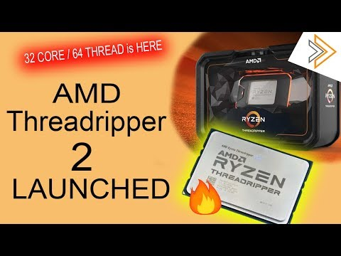 AMD 2nd Gen Threadripper 32 Core/64 Thread CPU Launched, Pricing and Availability [in HINDI]