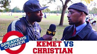 Kemet vs Christianity | SPEAKERS CORNER