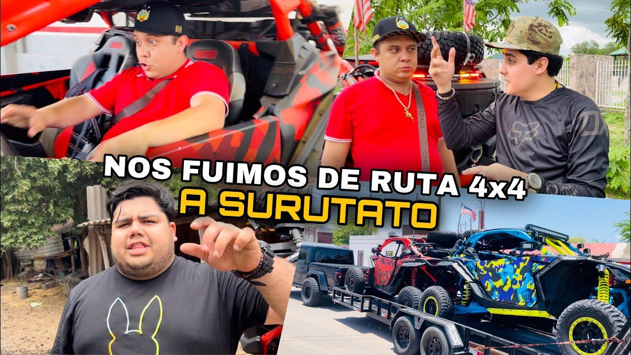 DE CULIACAN A SURUTATO RUTA 4x4 | LOS TOYS | MARKITOS TOYS