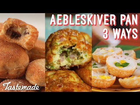 Aebleskiver Pan - 3 Recipes I Shop Tastemade