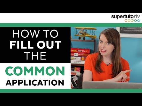 How to Fill Out The Common App: the Application and Activities sections EXPLAINED!!