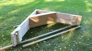How To Build A Shed Building Installing Roof Rafters How To