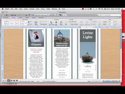 How to create a Tri-Fold Brochure.mp4