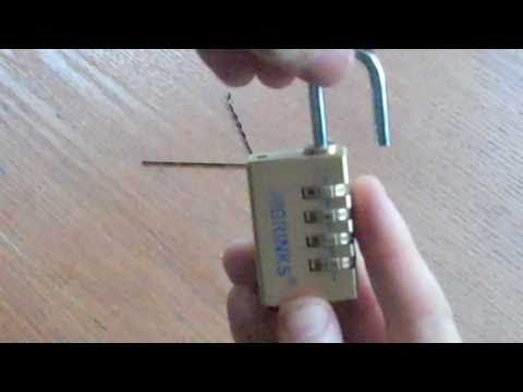 How To Pick a Brinks Number Lock