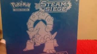 Opening A Steam Siege Elite Trainer Box!