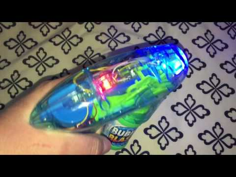 Fully Automatic light up bubble Gun review