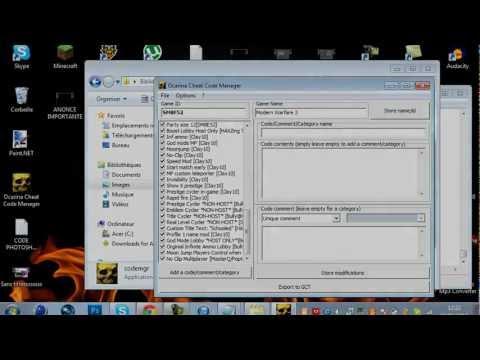 Tout les codes hack MW3 Wii SM8F52 ! [Télécharger]