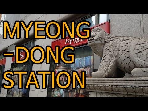 AAAATV Myeongdong Station in KOREA 160928