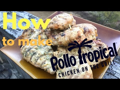 How to make Pollo Tropical chicken! Macro friendly, full of flavor, healthy and delicious