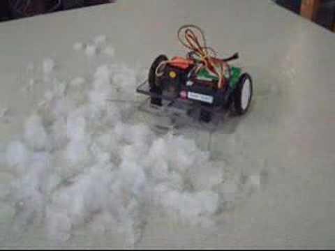 Remote Controlled Robot Shoveler