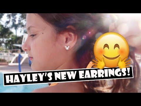 Hayley's New Earrings 🤗 (WK 382.7)   Bratayley