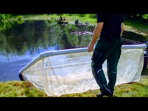 HOW TO BUILD A FLOATING FISH KEEPING NET BASKET | DETAIL TUTORIAL | BREEDING KOI,CARP,BAIT FISH,