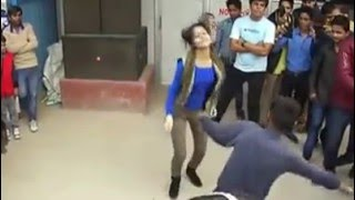 Whatsapp Funny Video-Indian-dance comptition with girl and boy--you cant stop laughing