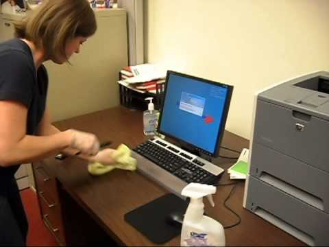 Office Cleaning / Janitorial Training Video