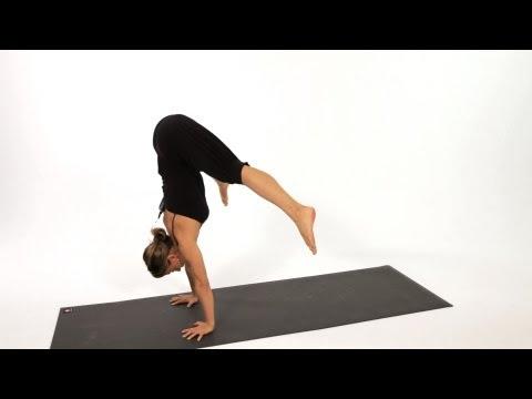 How to Do a Press Handstand   Yoga