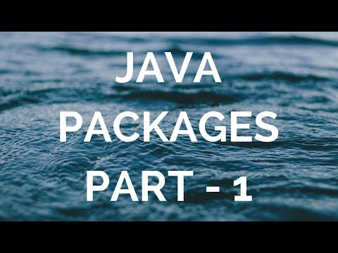 java packages explained (manohar academy)