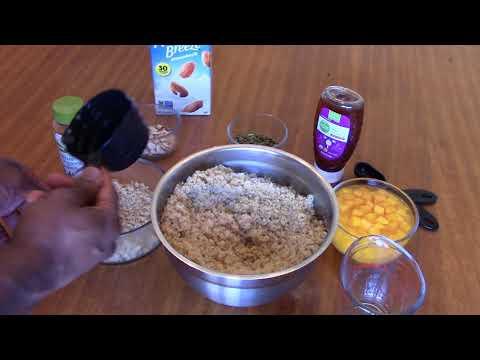 How to Mak Quinoa Cereal Instructional Video Vegan Breakfast