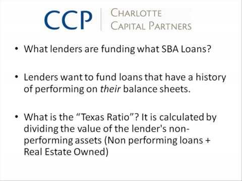 Franchise Loan or Business Loan? SBA Loan Part 1