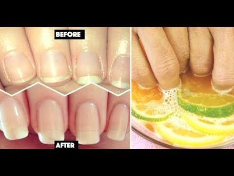 DIY Nail Soak I How To Strengthen Nails?