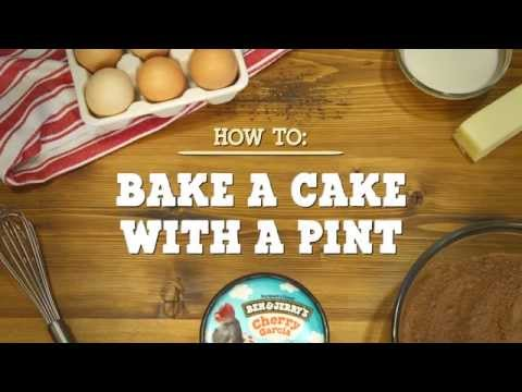 A Cake With Ice Cream: How To Make | Ben & Jerry's
