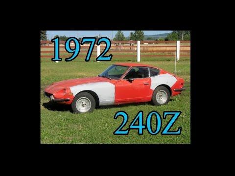 1972 Datsun 240Z Compression Test and Gas Primed Starts - eBay Sale